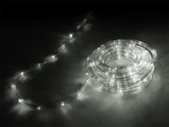 Lampki ozdobne choinkowe białe zimne wąż Led 10m
