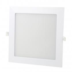 Panel LED 17x17cm 12W podtynkowy PLAFON sufitowy 4000K-W - nikiel