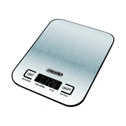 Elektroniczna metalowa waga kuchenna inox Mesko MS 3169 black do 5 kg
