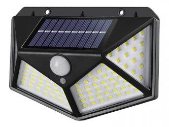 Lampa solarna LED LTC 10W z czujnikiem ruchu i zmierzchu