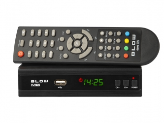 Tuner cyfrowy BLOW 4606HD DVB-T2 H.264 USB