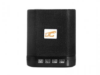 Głośnik Bluetooth LTC KOSTKA  z radiem FM AUX microSD - czarna