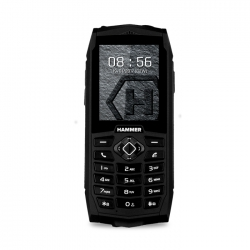Telefon komórkowy telefon dla seniora myPhone HAMMER 3 czarny Dual SIM aparat