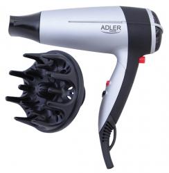 Suszarka do włosów z dyfuzorem 2000 W Adler AD 2239 zimne powietrze składana rączka