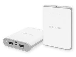 Powerbank 14000mAh 2xUSB Blow PB14 - polimerowa bateria - biały