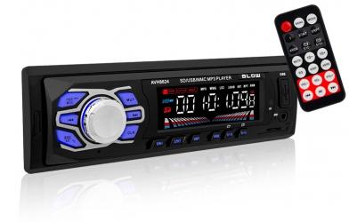 Radio samochodowe BLOW AVH-8624 pilot bluetooth SD
