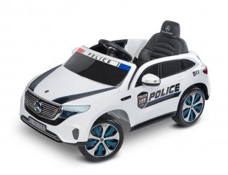 Samochód auto na akumulator Caretero Toyz Mercedes-Benz EQC 400 POLICJA akumulatorowiec + pilot - biały