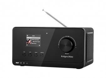 Radio internetowe DAB Kruger&Matz Bluetooth WiFi + pilot