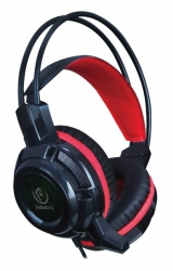 Słuchawki gamingowe nagłowne z mikrofonem REBELTEC BALDUR