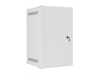 Szafa instalacyjna RACK wisząca 10'' 9U 280x310 drzwi metalowe Lanberg - szara