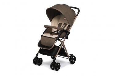 Wózek spacerowy  LIONELO LEA + ocieplacz na nóżki - brązowy