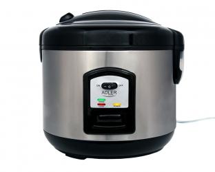 Garnek do gotowania ryżu Adler AD 6406 2 funkcje 1000W 1,5L