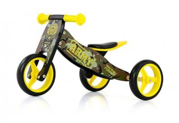 Jeździk rowerek biegowy 2w1 Milly Mally Jake Pink Cowgirl