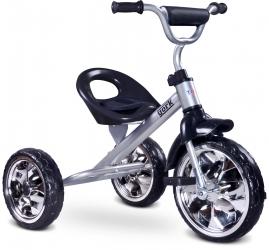 Rowerek trójkołowy dziecięcy Caretero Toyz York z pedałami - szary