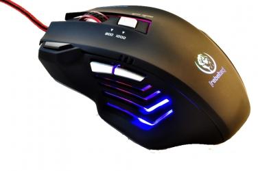 Mysz dla graczy Rebeltec PUNISHER 2 BLACK