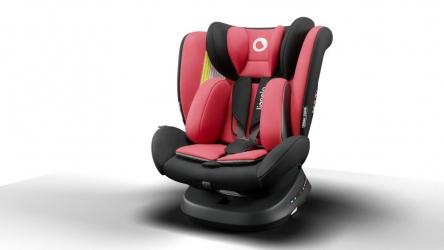 Fotelik samochodowy LIONELO BASTIAAN ONE 0-36 kg ISOFIX 360 stopni RWF - czerwony
