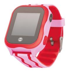 Zegarek smartwatch Forever KW-300 dla dzieci z lokalizatorem GPS WIFI SOS różowy