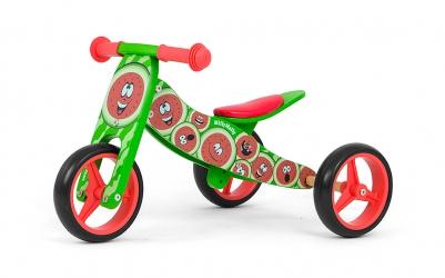 Jeździk rowerek biegowy 2w1 Milly Mally Jake Rainbow