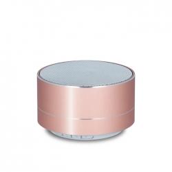 Przenośny głośnik Bluetooth Forever PBS-100 różowo-złoty