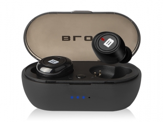 Słuchawki BLOW Earbuds BTE100 Bluetooth PowerBank czarne