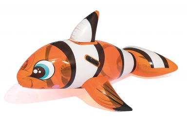 Materac zabawka do pływania dmuchana ryba błazenek nemo Bestway 157cm x 94cm