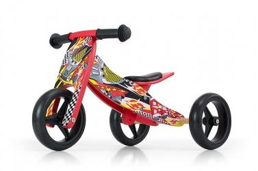 Jeździk rowerek biegowy 2w1 Milly Mally Jake Watermelon
