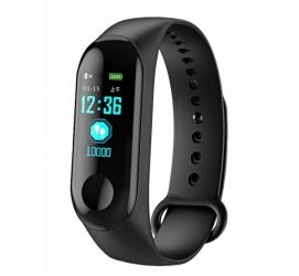 Zegarek smartband opaska sportowa R2invest M3
