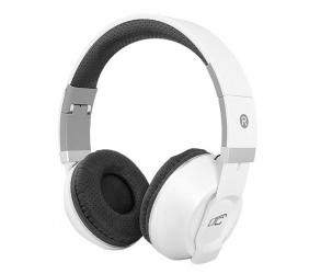 Słuchawki bluetooth LTC MIZZO mikrofon FM SD AUX - białe