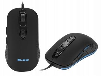 Mysz gamingowa podświetlana BLOW Adrenaline NECROS dla graczy