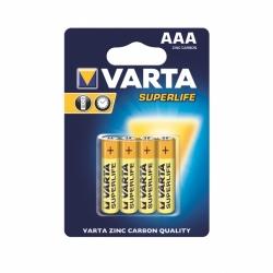 Baterie AAA VARTA R3 Superlife cynkowo-węglowe 4szt