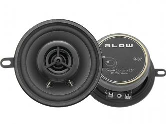 Komplet głośników samochodowych blister samochodowy BLOW R-87 4 Ohm