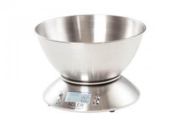 Elektroniczna waga kuchenna z misą Adler AD 3134 5 kg