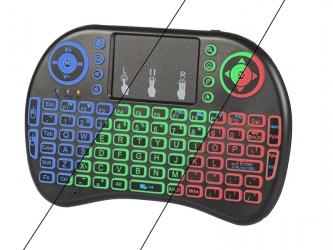 Bezprzewodowa klawiatura 2,4GHz Blow MINI KS-2 z podświetleniem