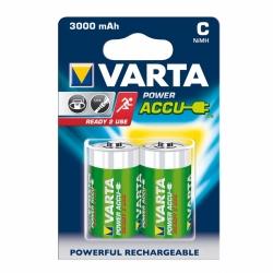 Akumulatory VARTA R14 Typ C Power ACCU 3000mAh Ready To Use 2szt