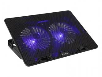 Podświetlana podstawka chłodząca pod laptop BLOW SAMBA