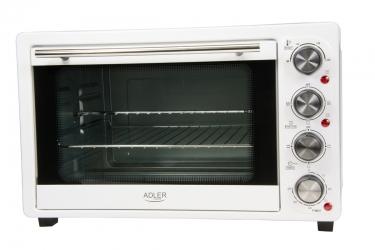 Piekarnik elektryczny z rusztem i tacką Adler AD 6001 35 L