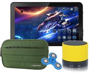 Tablet edukacyjny Blow BlackTab dla dzieci KIDS 3G + gry + etui + głośnik + spinner + modem 3G