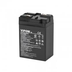 Akumulator żelowy uniwersalny VIPOW 6V 4Ah