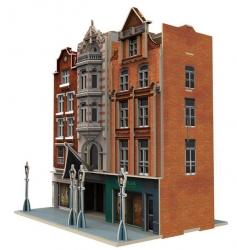PUZZLE 3D Wielka Brytania Auction House & Stores zestaw 93 elementy skala 1:87