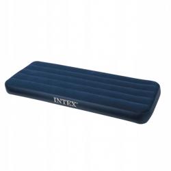 Nadmuchiwany materac łóżko jednoosobowe classic Intex 76cm x 191cm x 22cm