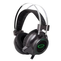 Podświetlane słuchawki gamingowe z mikrofonem Esperanza TOXIN