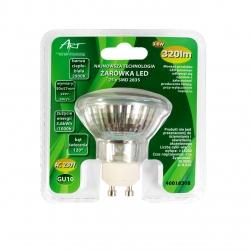 Żarówka LED GU10 3.6W 25xSMD2835, AC230V, 320lm, WW blist.
