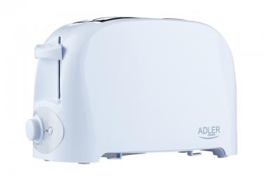 Toster Adler AD 3201 na 2 kromki 750 W