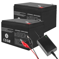 Akumulator żelowy CSSB 12V 12Ah