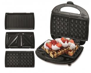 Toster gofrownica sandwich Camry 3w1 opiekacz grill 1000W nieprzywierający