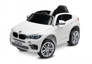 Samochód auto na akumulator Caretero Toyz BMW X6 akumulatorowiec + pilot zdalnego sterowania - biały