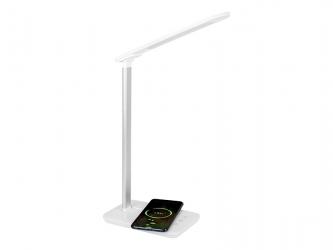 Lampka biurkowa LED BLOW LB-06 z ładowarką indukcyjną QC
