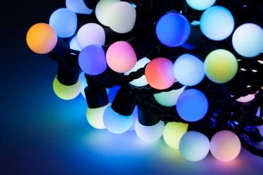Lampki ozdobne choinkowe wielokolorowe wewnętrzne LED 200 szt 20 m
