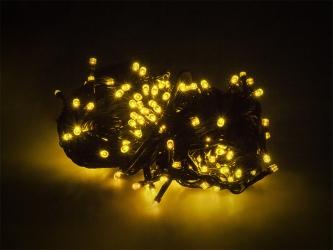 Lampki ozdobne choinkowe żółte Led 100szt 7,5m