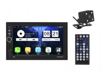 "Stacja multimedialna LTC AVX5000GPS 7"" Mirror link FM AUX microSD USB Bluetooth GPS pilot + kamera cofania mikrofon"